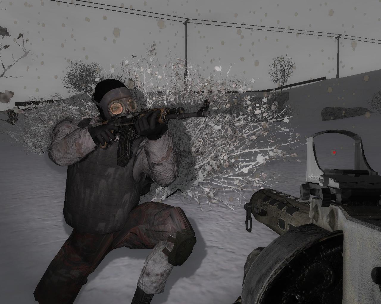Скачать s. T. A. L. K. E. R. : зов припяти дезертир зима (rus) через.