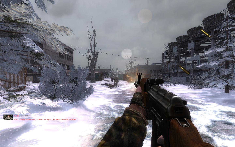 Cold blood mod for stalker clear sky ( eng / rus) image.